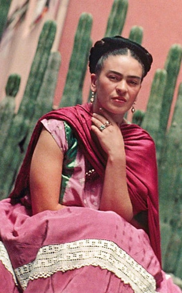 An exhibition of Frida Kahlo's wardrobe?