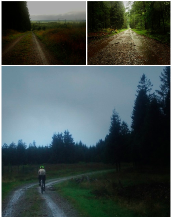 """The route which went through Parc Naturel Hautes Fagnes"""