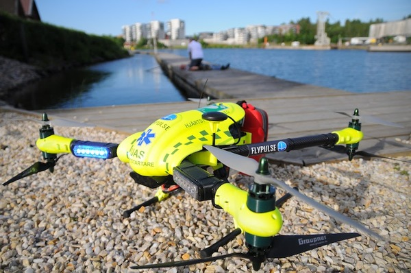 Company Using Drones to Save Heart Attack Victims Lives - 3D Insider