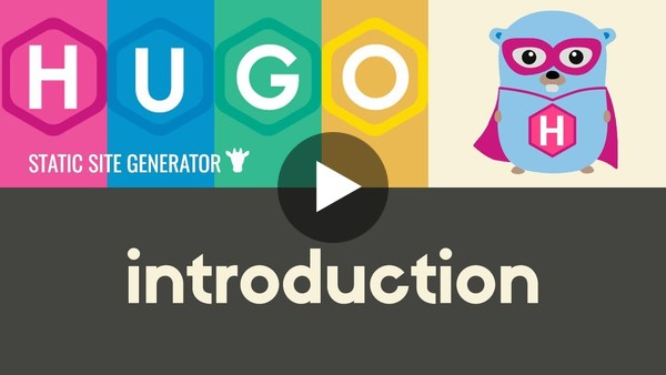 Introduction to Hugo | Hugo - Static Site Generator | Tutorial 1 - YouTube