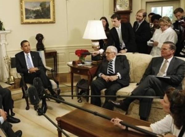 Obama, Brzezinski ve Kissinger