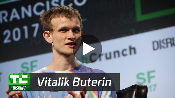 Decentralizing Everything with Ethereum's Vitalik Buterin | Disrupt SF 2017 - YouTube
