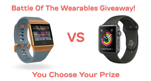 Battle Of The Wearables Giveaway!