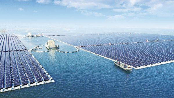 The world's largest floating solar farm has begun producing energy atop a former coal mine
