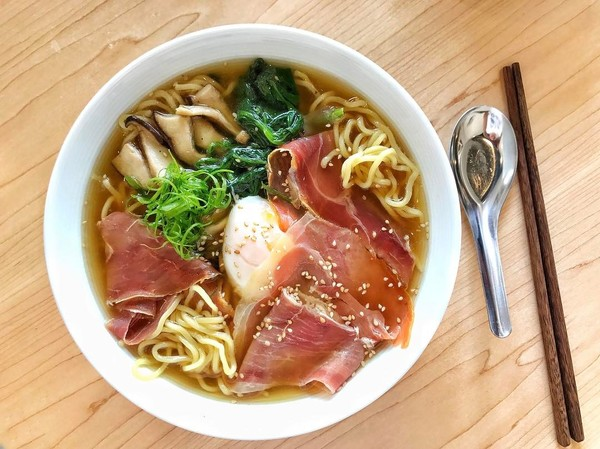 """Serrano Ham Ramen"" by We Have Noodles (@wehavenoodlesla)"