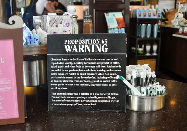 Coffee sold in California could carry cancer warning labels - SFGate