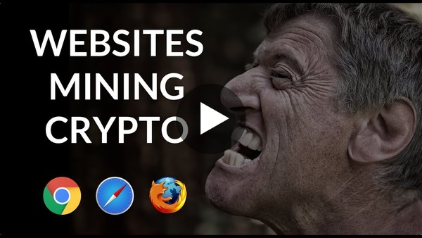 Websites mining using your CPU - Building our own