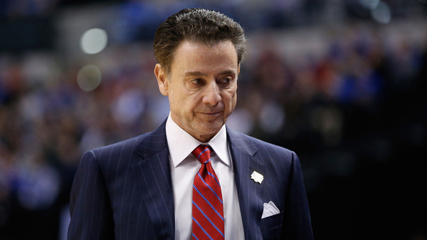 Rick Pitino Is Put On Unpaid Leave As University Of Louisville Reacts To Scandal : The Two-Way : NPR
