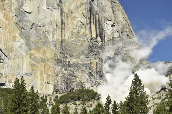Climber: Rock fall strikes Yosemite for a second day - SFGate