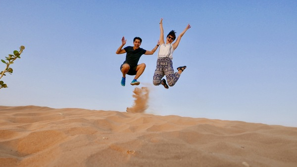 Just yesterday, during a safari in the desert of Dubai!