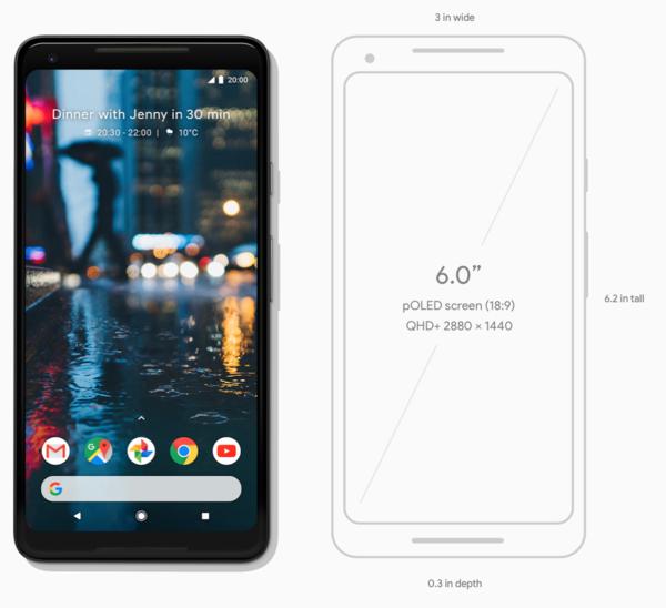 Nový Pixel 2 XL od Google
