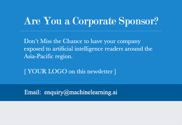 [ YOUR LOGO HERE ] - email: enquiry@machinelearning.ai