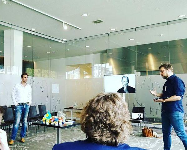 Onze presentatie op ParkstadLab