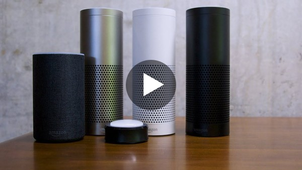 New Amazon Echo Plus first look - YouTube