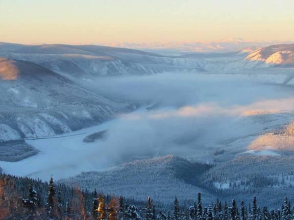 (De regio rond) Dawson City, waar Sien de inspiratie voor 'Noord' vond
