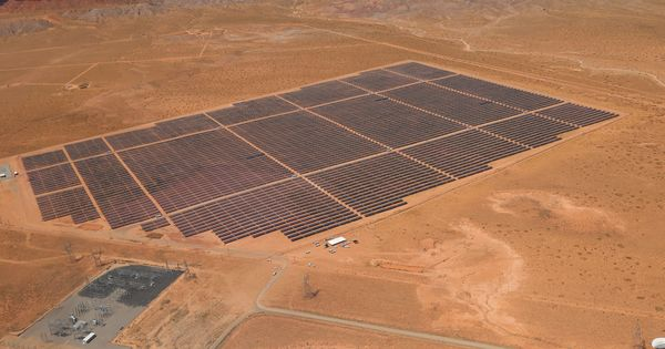 Navajo Nations first solar project now producing electricity for the tribe