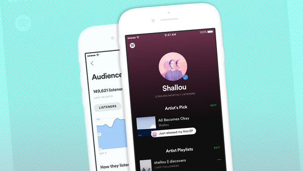 Spotify's New App Aims To Hook Artists On The Power Of Their Own Data