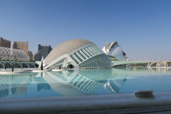 Cité des Arts et Sciences in Valencia