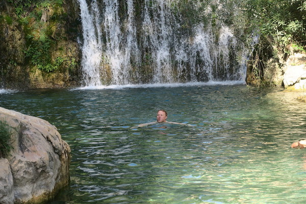Taking a dive in les Fonts de l'Algar