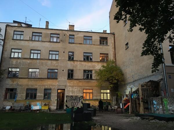 Creatieve vrijplaats D27, Riga