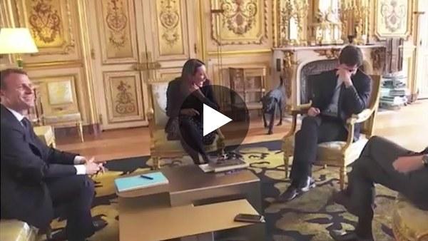 Een hondenleven op het presidentieel paleis
