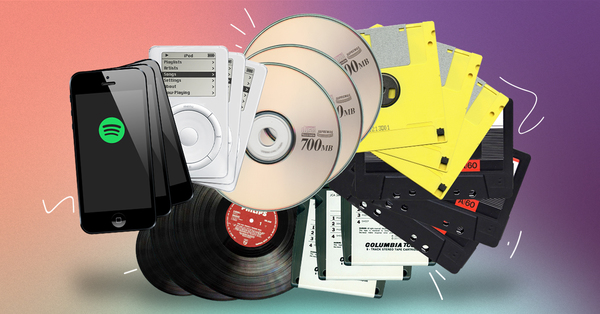 From Discs to Digital: The Odd History of Music Formats