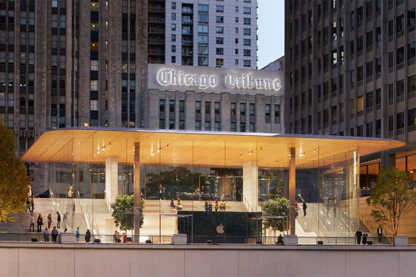 Apple Store Chicago
