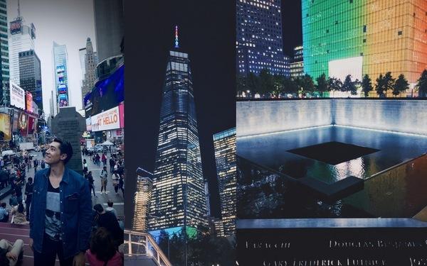Times Square, 1 World Trade Center, 9/11 Memorial