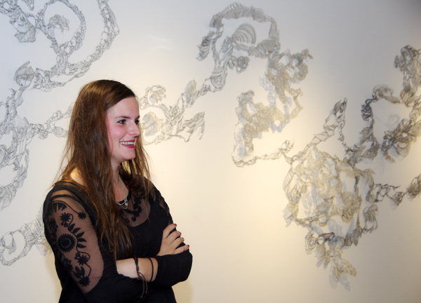 "Viktoria Strecker's ""Inversion"" on display through Nov. 4."