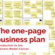 The One-Page Business Plan: Introduction to the Business Model Canvas and How it Can Help You (+ 14 Supporting Tools)
