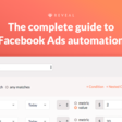 Guide: Facebook Ads Automation