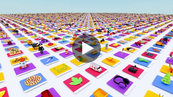 Introducing Poly: Browse, Discover and Download 3D Objects - YouTube