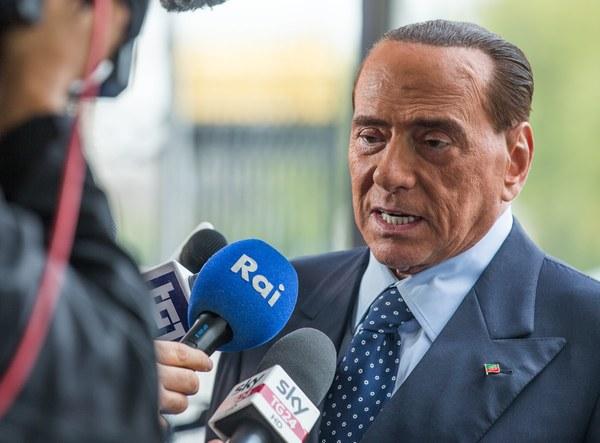 Berlusconi was twee weken geleden opeens in Brussel