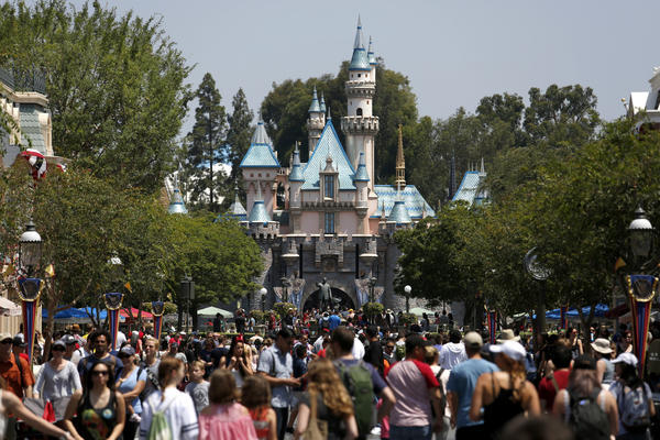 Is Disney paying its share in Anaheim? The money battle outside the Happiest Place on Earth - Los Angeles Times