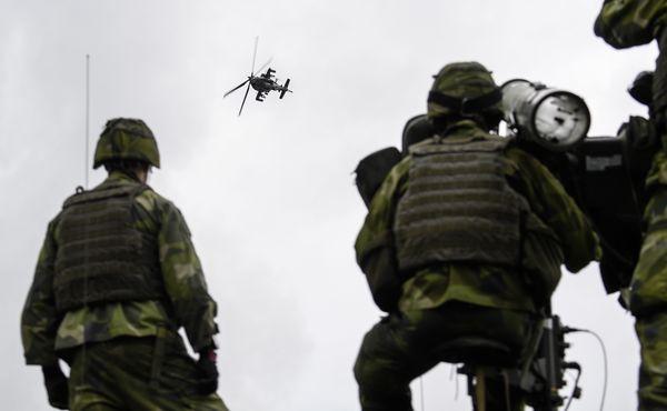 NAVO-oefening in Zweden