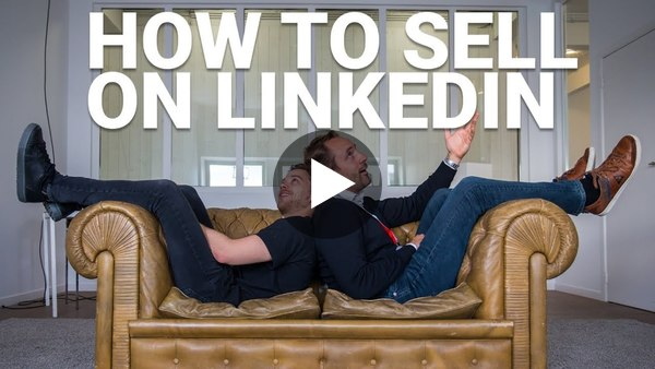 Two Belgians explaining their LinkedIn Selling secrets. Awesome!