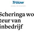 Scheringa gaat zich met ICO's bezighouden