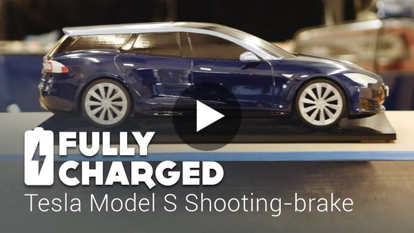 Tesla Model S Shooting-brake | Fully Charged - YouTube
