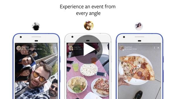 Facebook Stories for Events Demo - YouTube