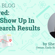 Unfiltered: How to Show Up in Local Search Results