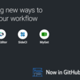 Build on your workflow with four new Marketplace apps · GitHub