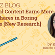 Tangential Content Earns More Links and Social Shares [New Research]