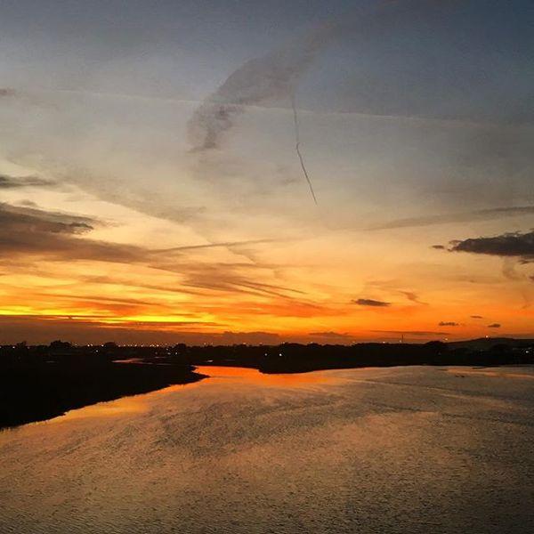 Adur sunset