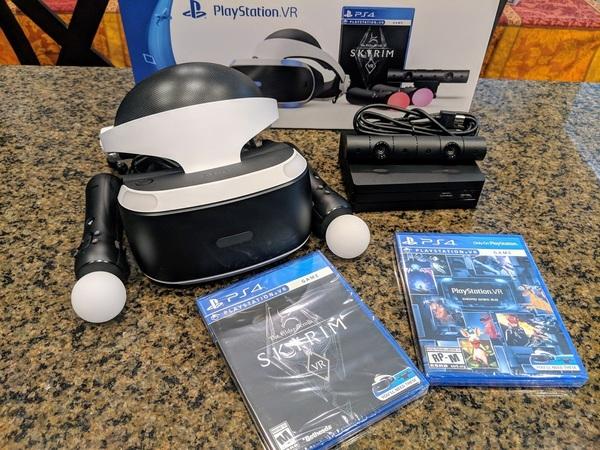 Skyrim VR PSVR Bundle