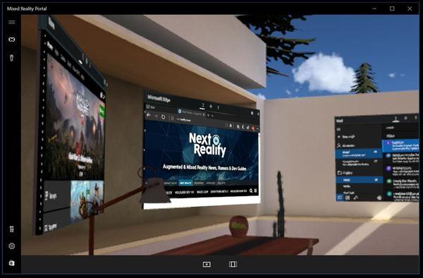 Microsoft's Mixed Reality Portal experience