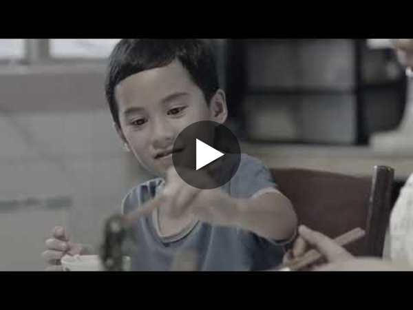 Heart-tugging commercial about a mother and son