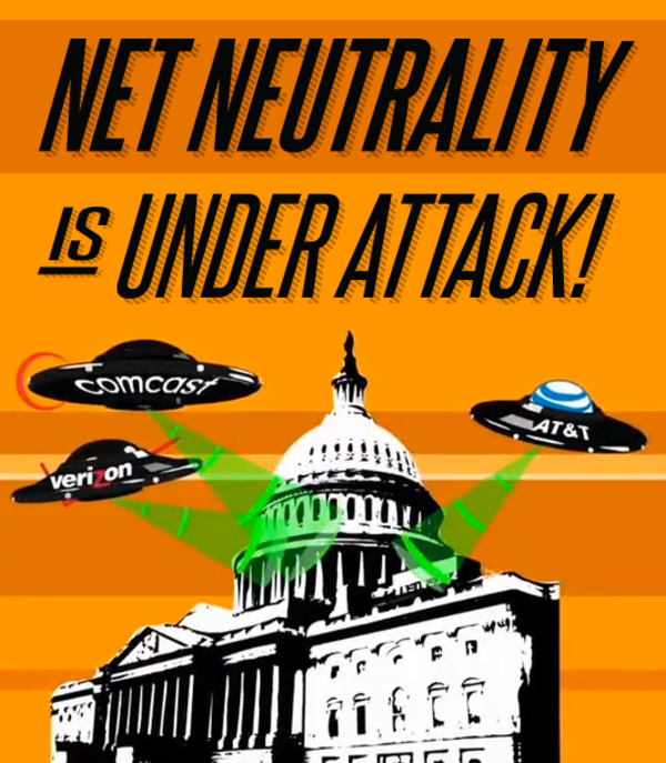 Net Neutrality is under attack!