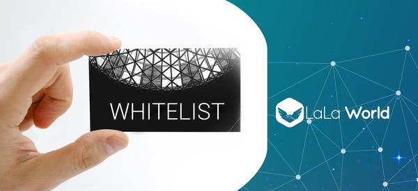Click the image to be part of our Whitelist