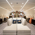 An Inside Look at the World's Only Private Boeing 787 Dreamliner Jumbo Jet