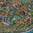 Tarık Tolunay'dan Detay Dolu İllüstratif Harita: Fractal İstanbul • Bigumigu